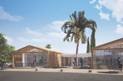 Saint Cyr sur mer Espace jeunesse Marie Parente Architecte